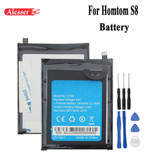 Alesser For Homtom S8 Battery 3400mAh 100% New Replacement a