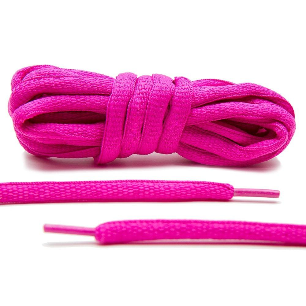 Bulk Buy Oval Shoelaces Pink 100 Pairs Sneakers Oval Shoelaces Bulk Pack Shoestrings 70/80/90/100/120CM bulk buy darice crafts for kids shoelaces assorted animal prints 12 pack 2701 93