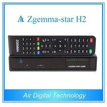 10 unids nuevo producto Caliente Zgemma estrellas H2 Linux 1xDVB-S2 + 1xDVB-T2/C receptor de satélite