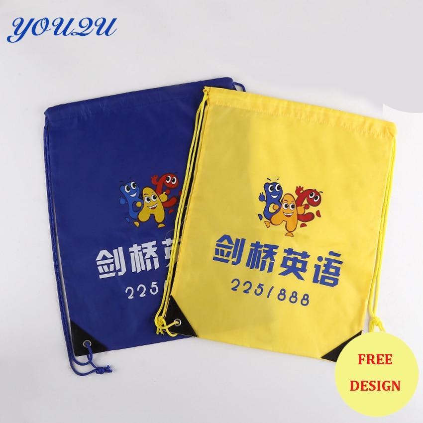 Custom Polyester drawstring bag custom Promotional drawstring bag Blank drawstring bag lowest price escrow accepted