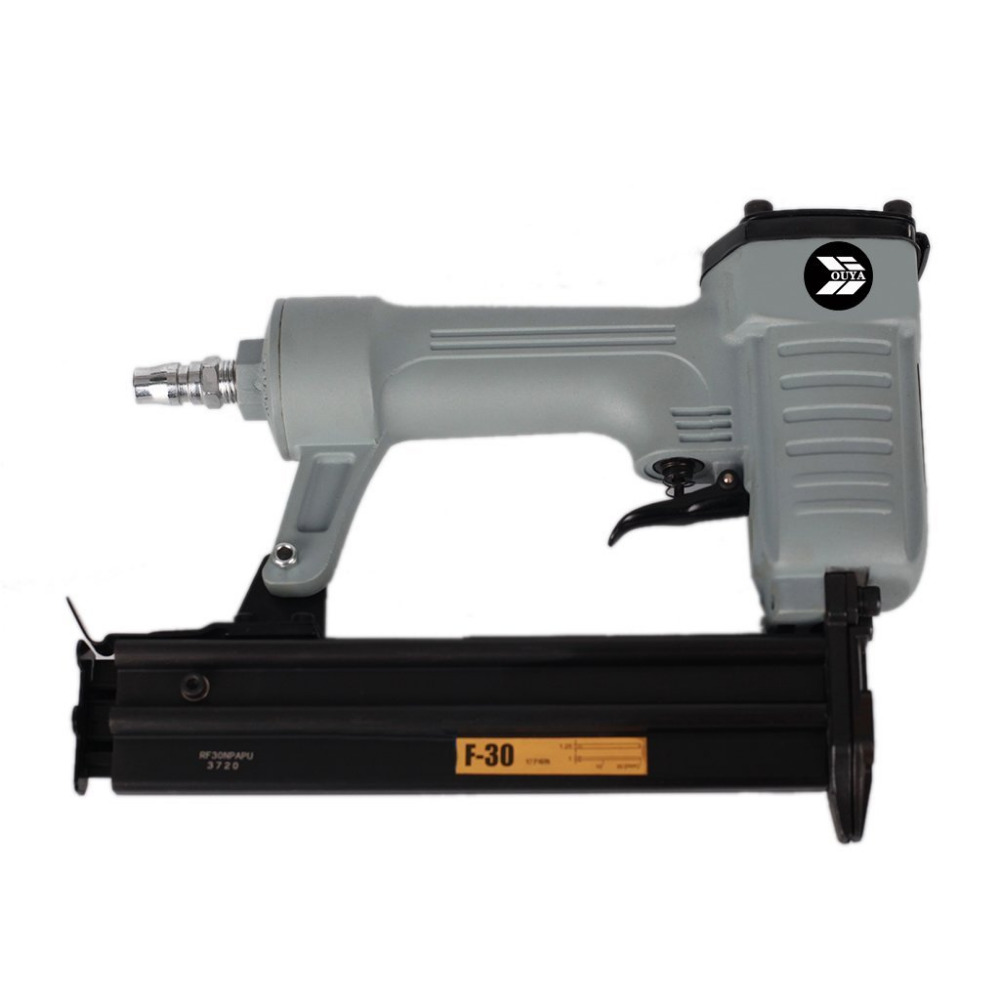 F30NP Pneumatic Nail Gun Air Nailer Gun Straight Nail Gun Pneumatic Tools Air Tools for Make Sofa/Furniture
