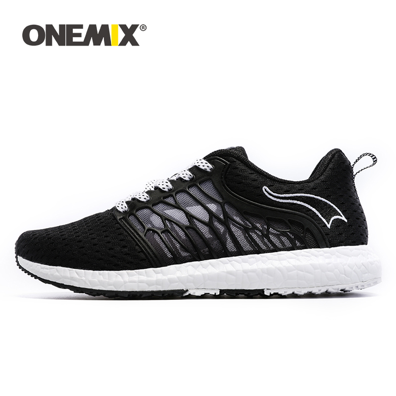 ONEMIX Running Shoes Breathable Mesh Men Athletic Shoes Super Light Sneakers Outdoor Shoes Men For Sport
