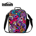 Dispalang creative design music cool lunch bags for men kids thermal cooler bag women insulated food lunchbox for work wholesale