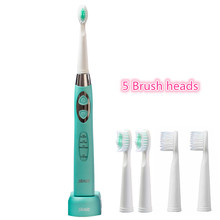 5 têtes de brosse brosse à dents électrique sonique Rechargeable intelligent inductif charge lavable à la mode 100 240 V Seage SG 917