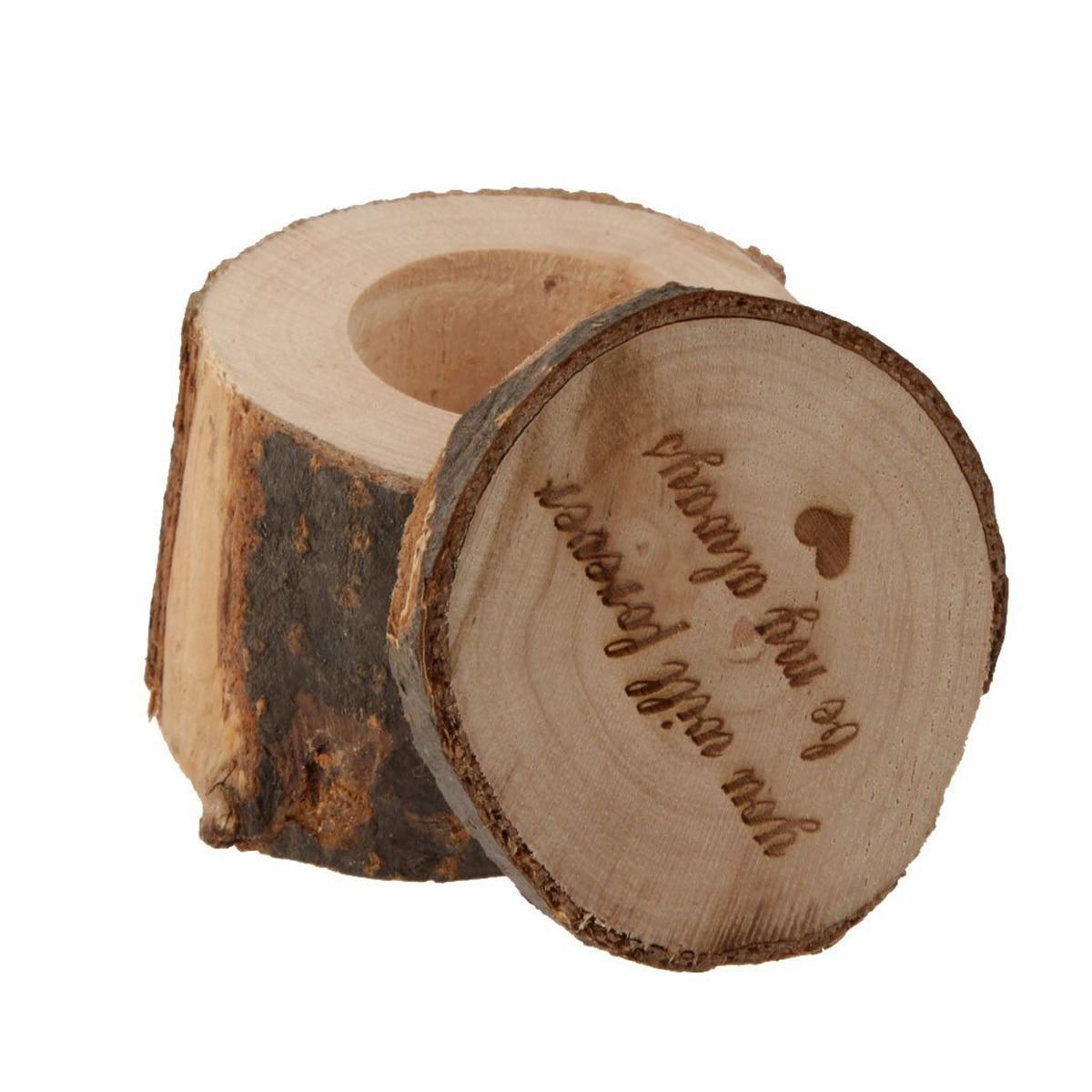 aliexpress : buy rustic decor wood craft wedding ring box