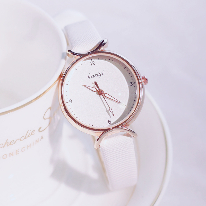 Montre Femme Simple Fashion Design Ladies Quartz Watch 2019 Female Leather Wristwatch Quality Casual Watch Women Zegarek Damski