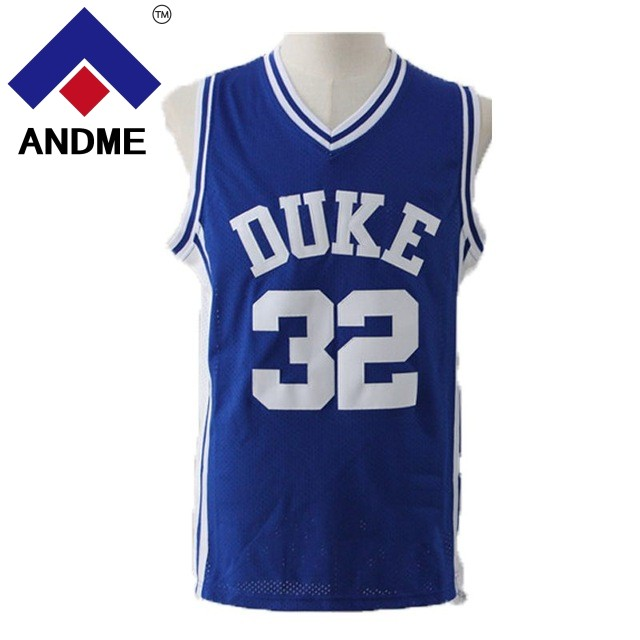 Christian Laettner 32 Duke University Blue Devils Basketball Jersey Cheap 4 Redick Throwback Embroidery Stitched Blue Size S-2XL