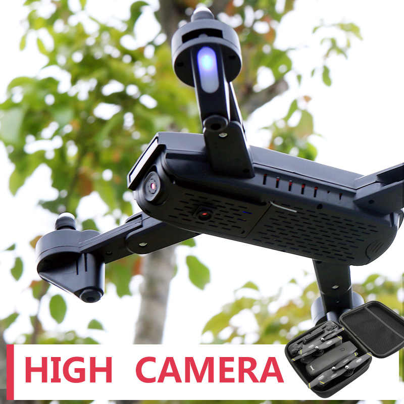 SMRC 169 Mini Quadrocopter  Drone With Camera HD follow me WiFi mine RC Plane race helicopter  fpv racing Dron x PRO profission