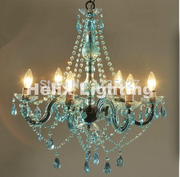 Freies Schiff Art Deco Bunte Kronleuchter Mischfarbe/Rosa/Schwarz/Blau  Wohnzimmer Candle Lampen