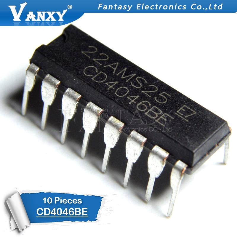 10PCS CD4046BE DIP16 CD4046 DIP 4046BE DIP-16 new and  original IC10PCS CD4046BE DIP16 CD4046 DIP 4046BE DIP-16 new and  original IC