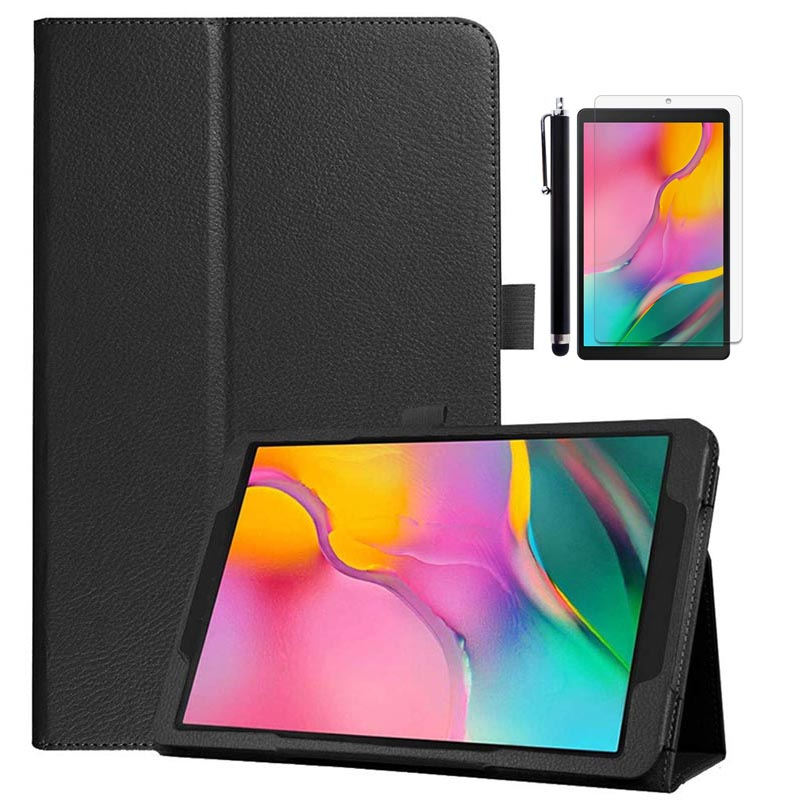 For <font><b>Samsung</b></font> Galaxy Tab A 10.1 2019 <font><b>Case</b></font> PU Leather Magnetic Flip Cover For <font><b>Samsung</b></font> Galaxy Tab A 10.1'' SM-<font><b>T510</b></font> / SM-T515 Tablet image