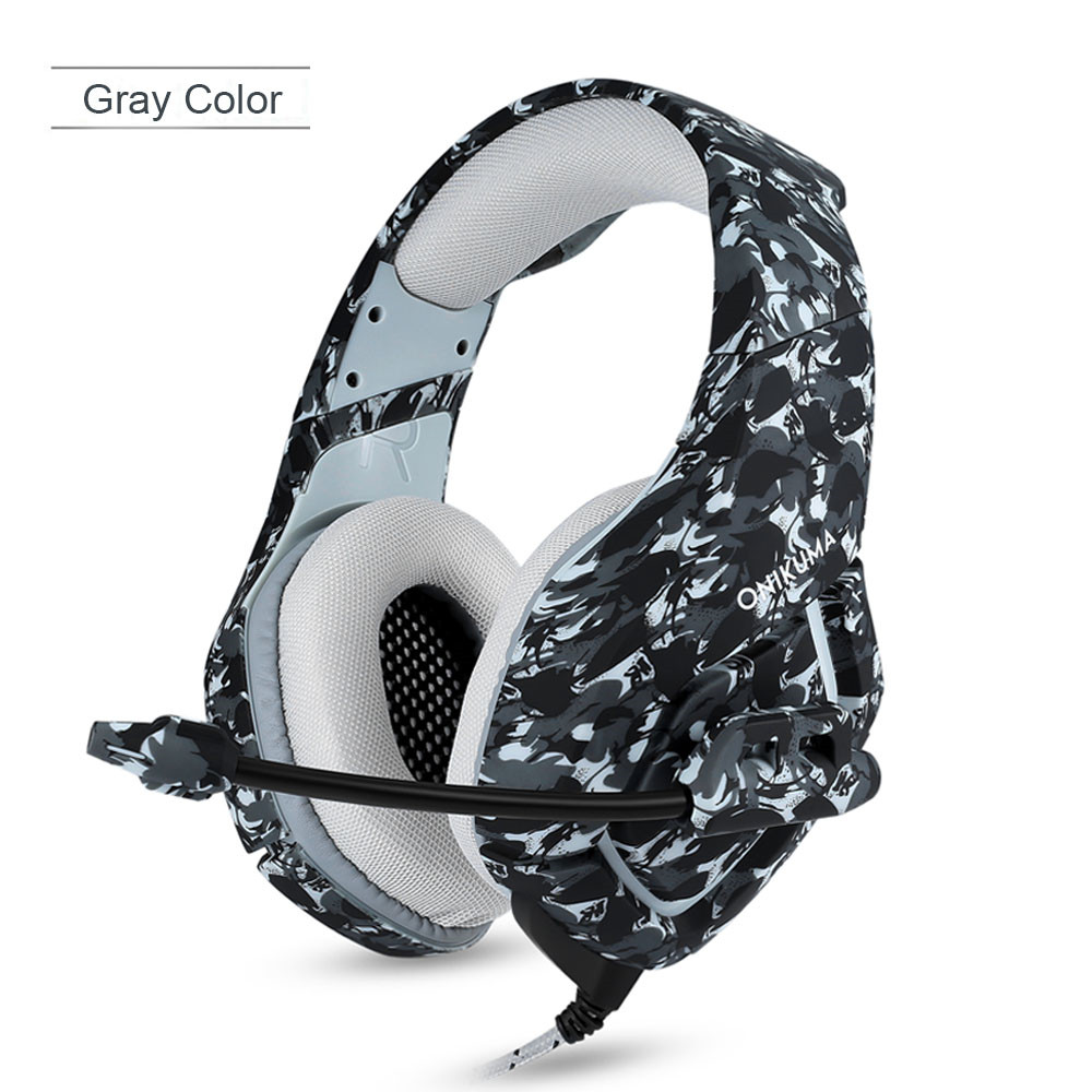 ONIKUMA K1 Casque  PS4 Headset with Microphone Stereo Gaming Headphones for Cell Phone New Xbox One Laptop PC (2)