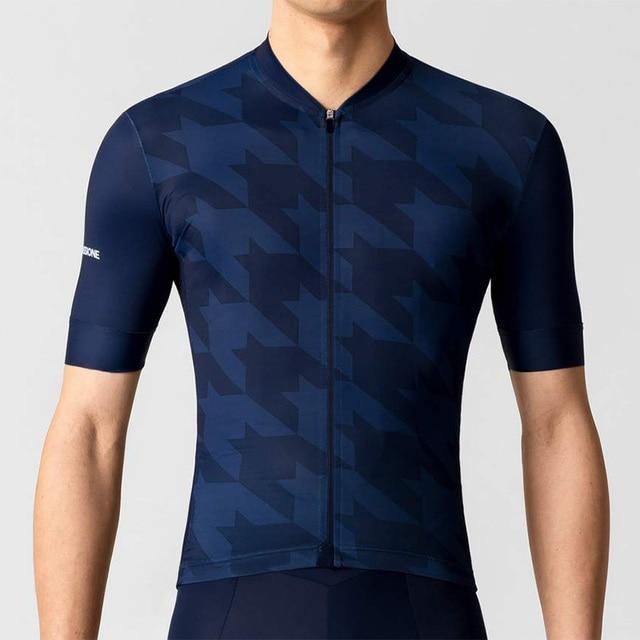 La Passione Maillot de ciclismo para hombre, camiseta de manga corta, ropa de ciclismo de montaña