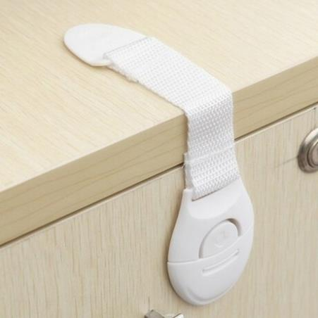 10Pcs Baby Safety Lock Drawer Toilet Safety Plastic Lock Multi-function Bendy Fridge Cabinet Door Locks New Design