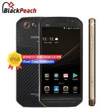 Получить скидку DOOGEE S30 Android 7,0 смартфон IP68 Водонепроницаемый 5,0 »стороне отпечатков пальцев 5 В/2A Быстрая зарядка 2 ГБ 16 ГБ Dual SIM 4 г LTE мобильный телефон