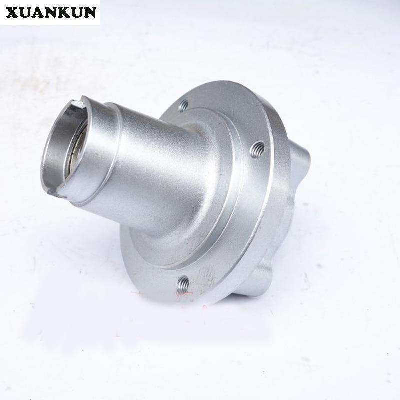 XUANKUN accessoires de moto tambour avant l'assemblage du noyau de tambour avant le noyau de tambour de frein à disque