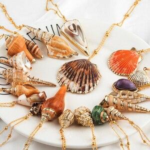 20 Styles Seashell Pendants In