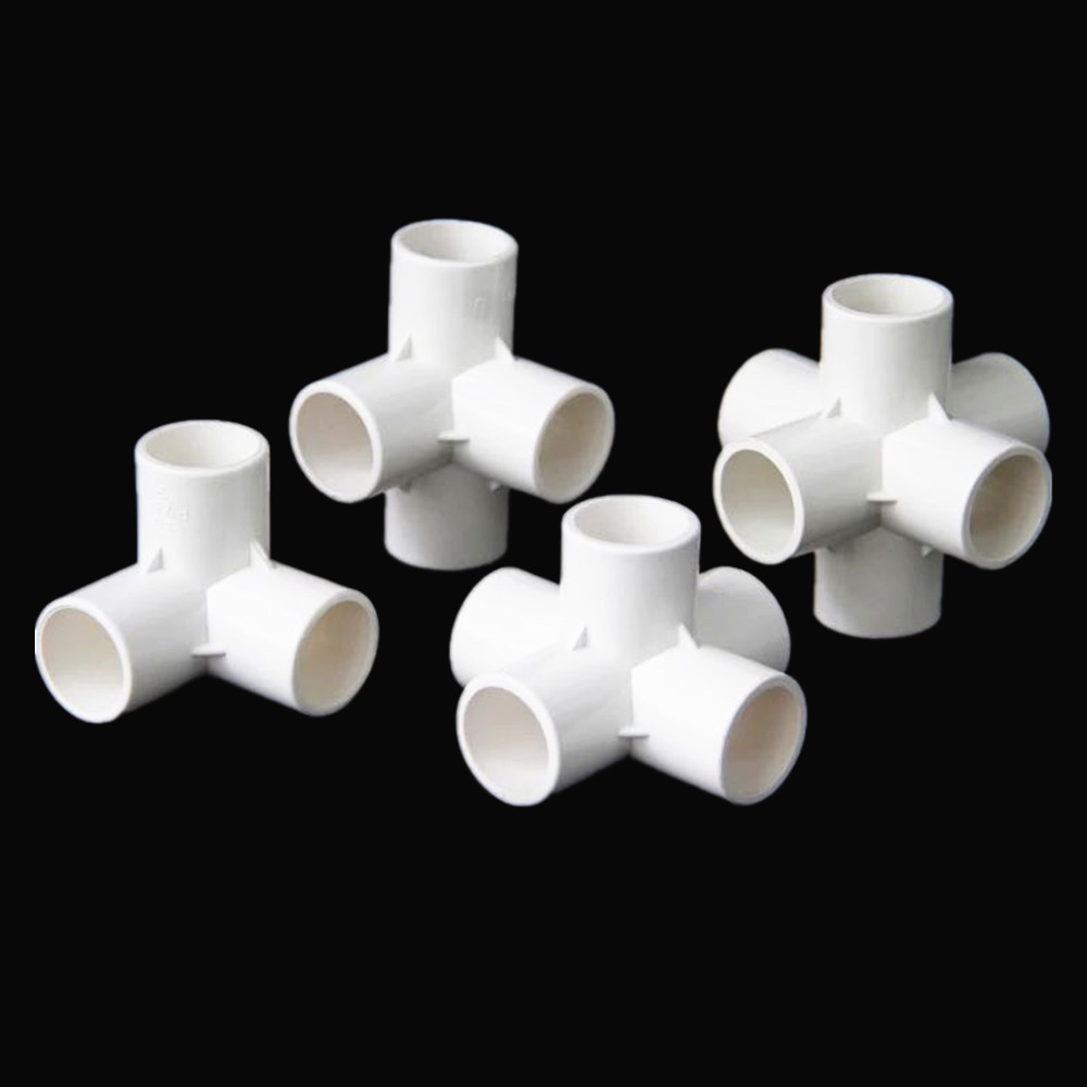 PVC 3/4/5/6 Dimensional Internal Diameter 20mm,25mm,32mm PVC Pipe Fittings Home Garden Irrigation Water Connectors DIY Tool