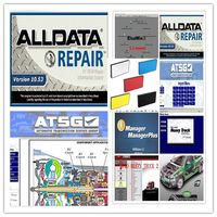 2018 New Arrival Alldata 10.53 all data auto repair software with mitchell ondemand 2015 software manager plus 47in1tb usb hdd