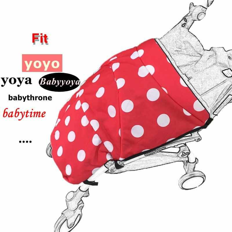 รถเข็นเด็ก footmuff Yoya Yoyo รถเข็นเด็กฤดูหนาวอบอุ่น Buggy รถเข็นเด็กทารกเท้า podotheca ชุดอุปกรณ์เสริมสำหรับรถเข็นเด็ก