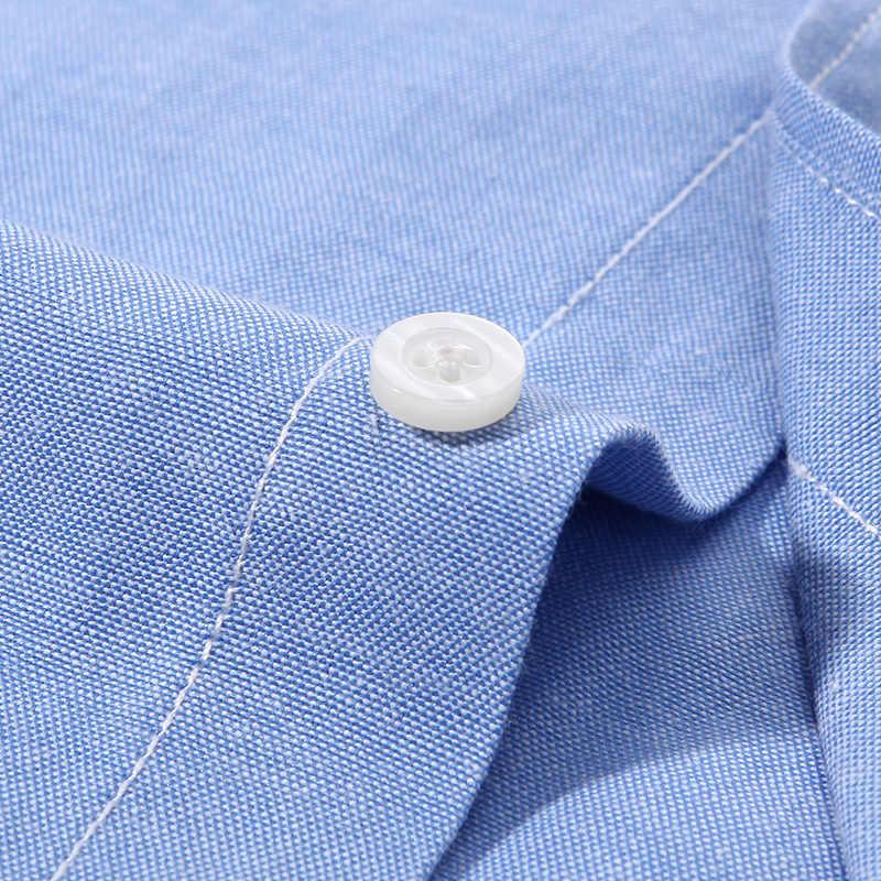 ... Langmeng 2017 Длинные рукава Большие размеры 5XL мужчин повседневная  рубашка мужская деловая рубашка брендовая мужская социальных ... 29742c14891