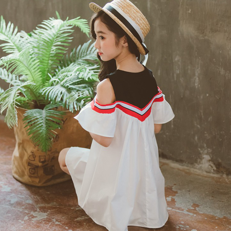 Summer Girl Dress Kids Children Dress Girls Sleeveless tutu Dress Princess 110 160cm Baby Girls outfit Clothes 2019 New fashion in Dresses from Mother Kids