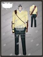 Новый Аниме Убийца Акаме Тацуми Косплэй костюм брюки и желтый рубашка W