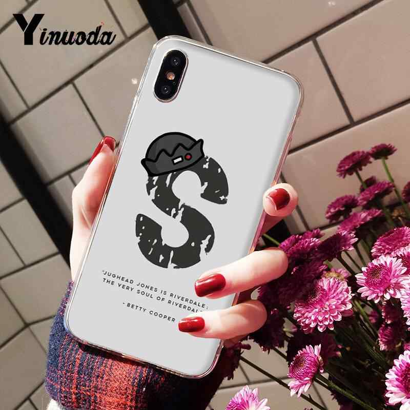 Yinuoda Riverdale South Side Cheryl blossom Melhores casais DIY Luxury Case for iPhone8 7 6 6S Plus X XS MAX 5 5S SE XR 10 Cover