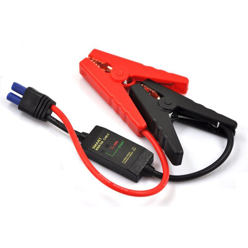 400A Smart Fully Protected 14 inch Intelligent EC5 Connector Emergency Alligator Clamp for 12V Jump Starter Battery Pack400A Smart Fully Protected 14 inch Intelligent EC5 Connector Emergency Alligator Clamp for 12V Jump Starter Battery Pack
