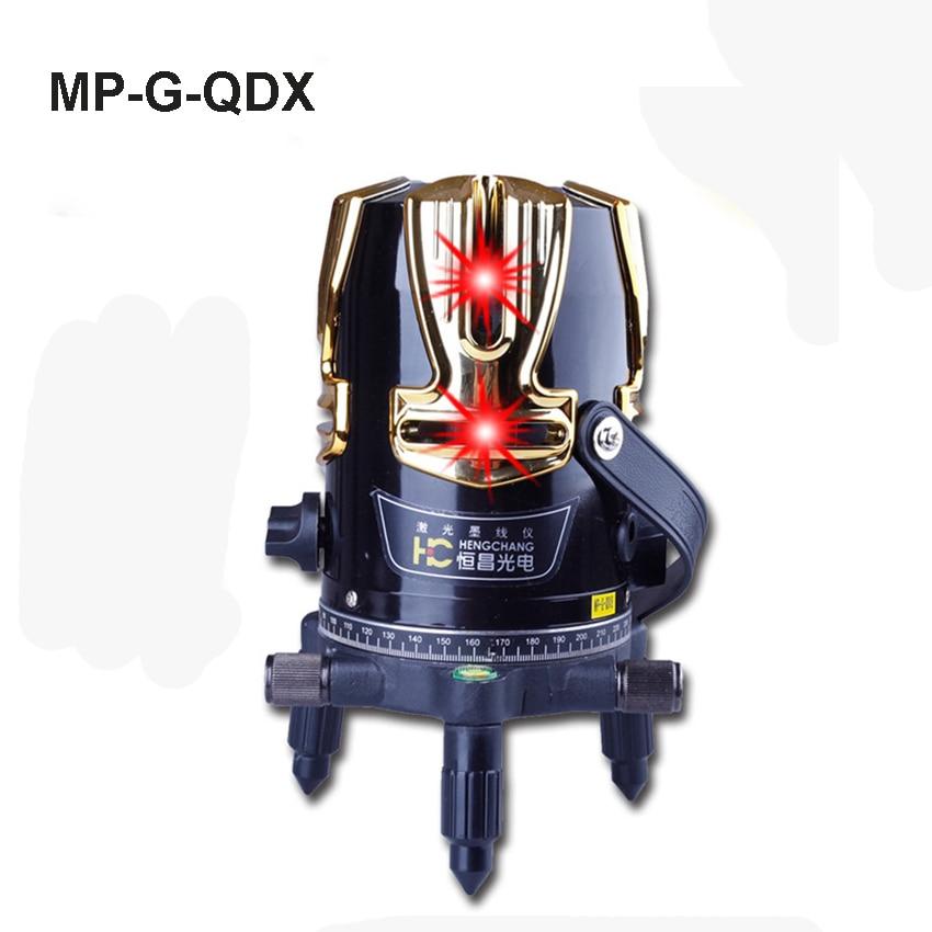 1pc   MP G QDX 8 lines  laser level 360 degree rotary cross laser line level Tilt Slash Function|laser level 360|8 lines laser level|laser level - title=