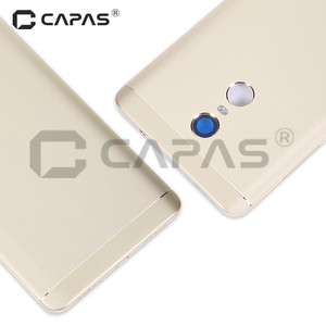 Image 3 - For Xiaomi Redmi Note 4 Global Version Metal Back Battery Housing Cover Redmi Note4 back Cover Snapdragon 625 Replacement Parts