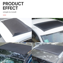 Car Sunroof Window Cover Sunshade Curtain, UV Protection Shield Sun Shade Mosquito Dust Protection
