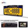 American License Plate Frame Automobile Sensor HD Car Rearview Camera Backup Parking Reverse Camera For Monitor