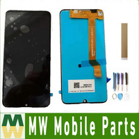 For Wiko view 3 View3 LCD Display With Touch Sensor Glass Digitizer Assembly Black with tools & tape