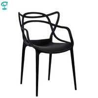 94974 Barneo N-221 Kunststoff Küche Innen Hocker Stuhl für eine Straße Cafe Stuhl Küche Möbel Schwarz kostenloser versand in Russland
