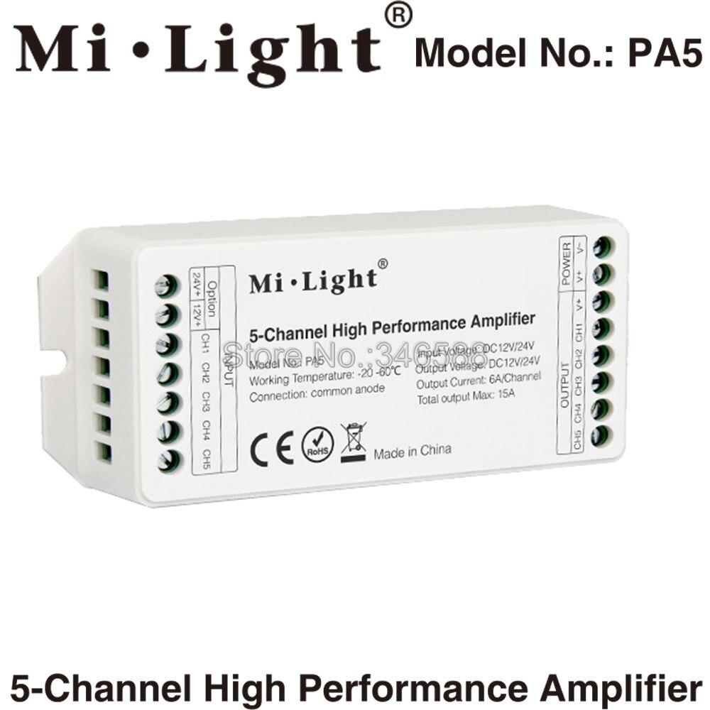 Mini Wifi Controller Magic Home Rgb Led Dc 12v 4a X Rgbw 010v Dimmer Sr2811110v Milight Pa5 Dc12v 24v Max 15a 5 Channle 6a Ch High