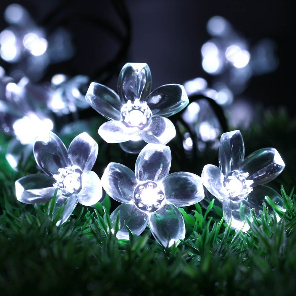 Solar fairy holiday string lights 21ft 50 led multi color gardens solar fairy holiday string lights 21ft 50 led multi color gardens christmas trees halloween lights decoration indooroutdoor use in led string from lights aloadofball Gallery