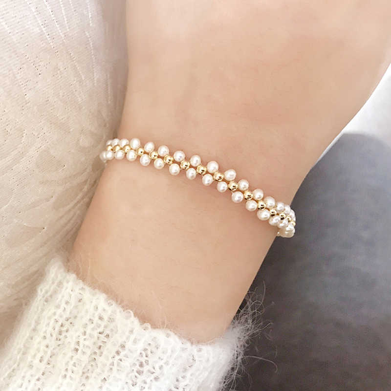Fashion Pearl Bracelet Jewelry Natural freshwater Pearl Bracelet Exquisite Jewelry Bracelet for wedding