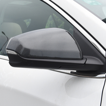 ABS Chrome Car Exterior Side Door Rearview Mirror Cover Trim Car Styling For Chevrolet Equinox 2017 2018 Accessories