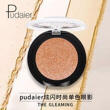 Pudaier Sparkle Eyeshadow Pearl Bright Piece Eye Shadow Monochrome Eye Shadow Pressed Powder Sparkling Makeup Beauty Cosmetics все цены