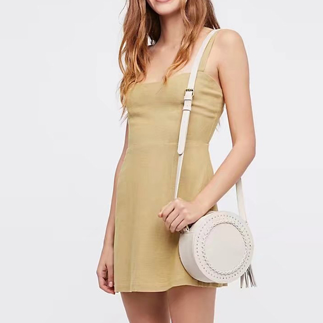 Straps Mini Dress