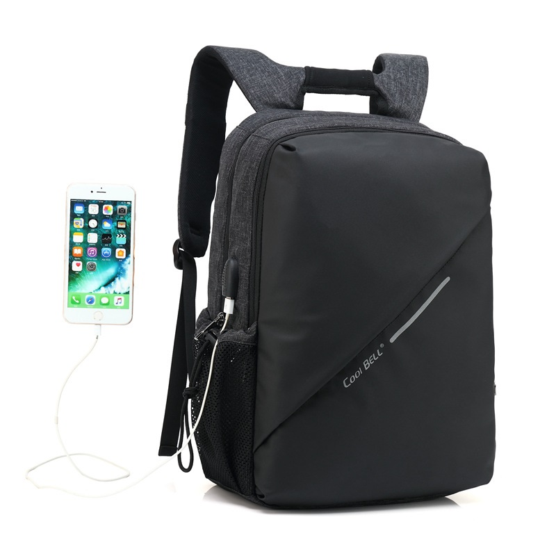 M092 New 2017 Design 15Laptop Backpack External USB Charge Computer Backpacks Business Shockproof Waterproof Bags for Men Women