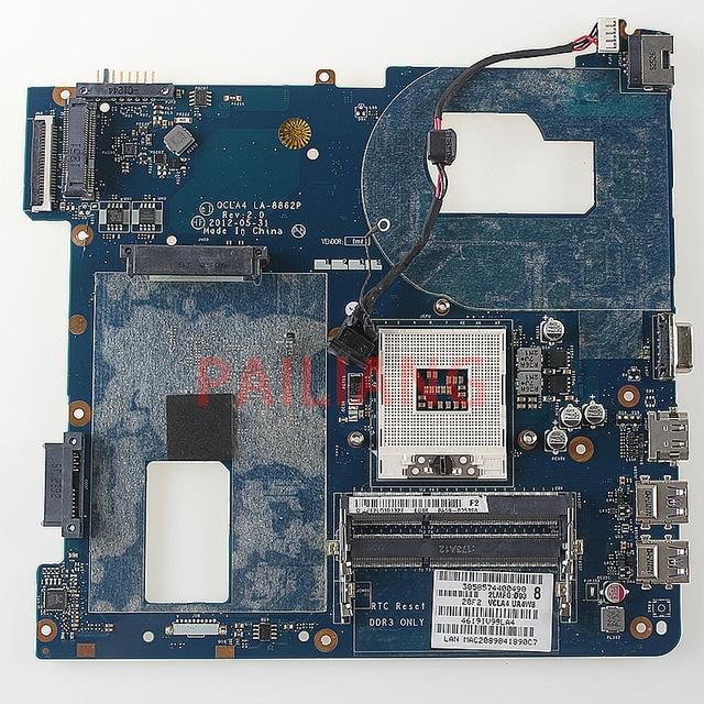 PAILIANG เมนบอร์ดแล็ปท็อปสำหรับ Samsung NP350V5C NP350V5X PC Mainboard HM70 QCLA4 LA-8862P BA59-03539A BA59-03539B tesed DDR3