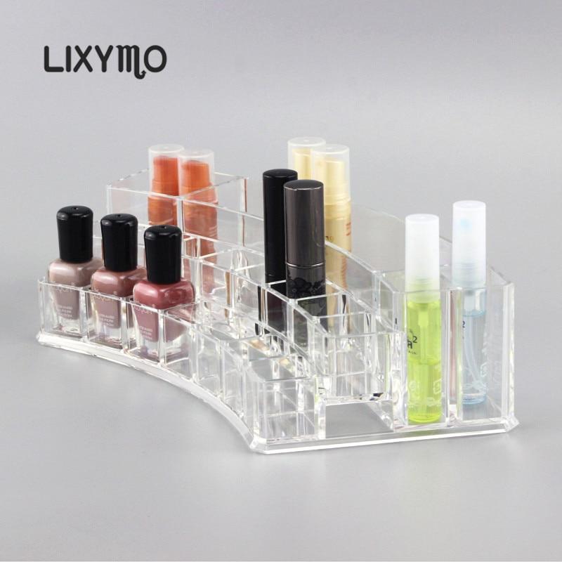 LIXYMO kozmetikai szervező smink rúzs kefe körömlakk tároló - Szervezés és tárolás