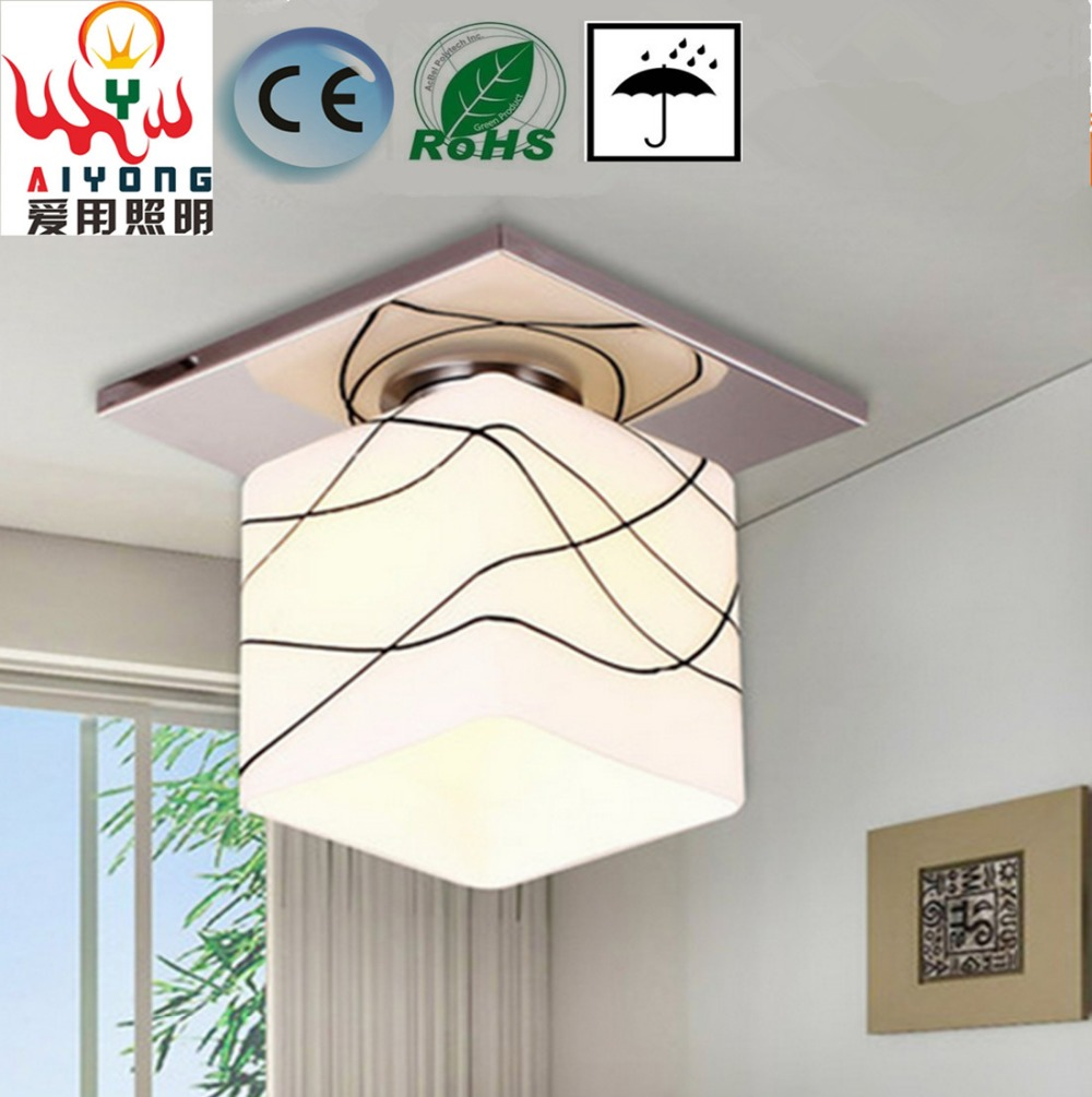 Porch lamp High power energy saving LED to absorb dome light Contracted corridor lighting lamps and lanterns e27 15w trap lamp uv spiral energy saving lamps purple white