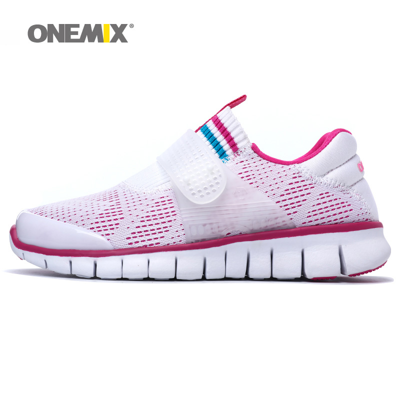 ONEMIX New Woman Running Shoes For Men Breathable Athletic Trainers Zapatillas Sports Shoe Outdoor Walking Sneakers Free Ship 8 onemix men s running shoes breathable zapatillas hombre outdoor sport sneakers lightweigh walking shoes plus size 39 47 sneakers