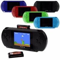 Jogadores de Jogos Portáteis de 16 Bits PXP3 Handheld Jogador Do Jogo de Bolso Console de vídeo Game com Cabo AV Suporte TV-out + Jogo cartão