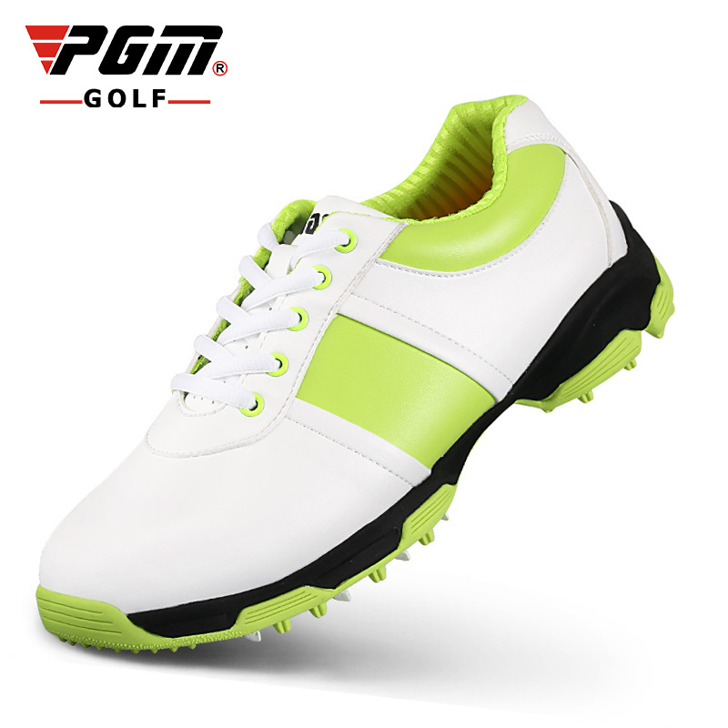 professional outdoor  casual golf shoes women men  anti-skid waterproof 3D air duct breathable superfiber leather shoes 464g