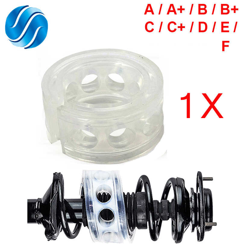 Car Shock Absorber Spring Bumpers Power 1 Pcs Auto-Buffers A/B/C/D/E/F Type Cushion Buffer