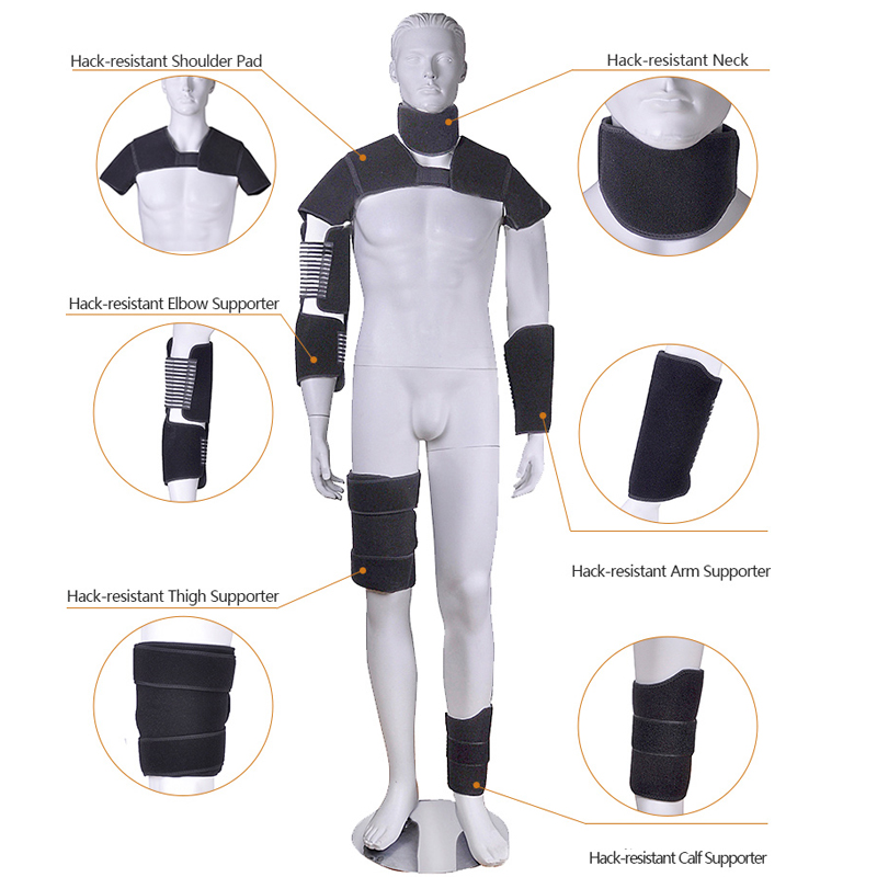 Anti-Stab Skyddsutrustning / Skyddande nacke / axlar / armbågsskydd - Säkerhet och skydd - Foto 2